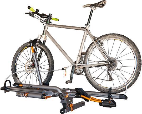 nv review hitch bike transfer rack kuat